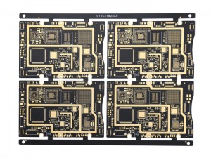 XWS 10 Layer GPS Multi-layer HDI PCB Technical Parameters FR-4 Board