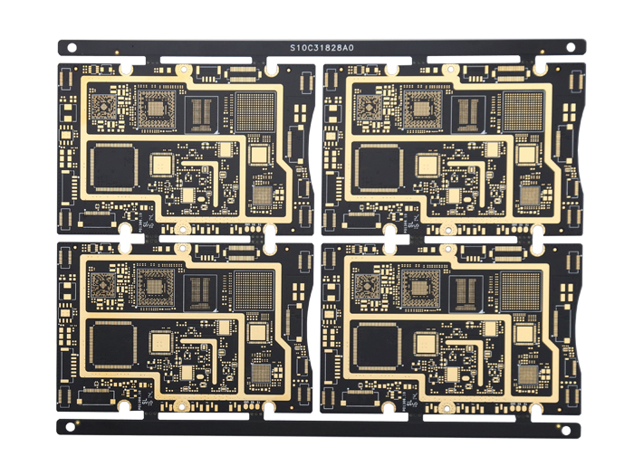 XWS 10 Layer GPS Multi-layer HDI PCB Technical Parameters FR-4 Board Featured Image