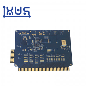 XWS 94v0 FR4 Double Side Gold Finger PCB Board Prototype Manufacture