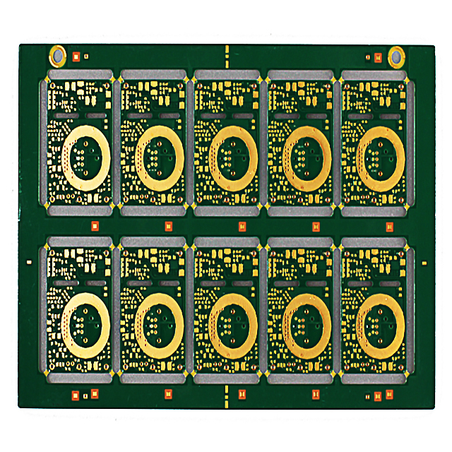 XWS multi-couche ENIG aveugle Burried HDI PCB Fabricant vias descriptive Photo