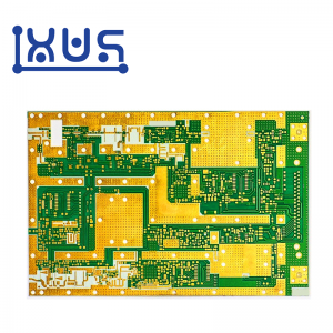 XWS 94v0 FR4 ENIG 4 Layer PCB Board Prototype Manufacture