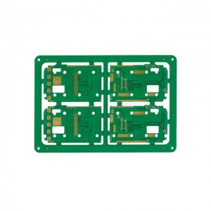 XWS High Quality Electronic FR4 Double Side Keyboard PCB Manufacture And Assembly