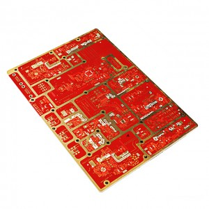 XWS 6 Layer Communication Immersion Au PCB Base FR-4 Board