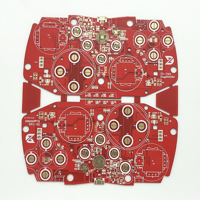 XWS Double Side Immersion Au Printed Cricuit Board PCB Prototype Featured Image