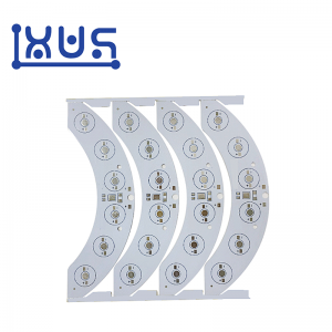 XWS Electronic 1 layer Aluminium SMD 5050 Led Strip PCB Circuit Board