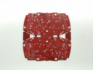 XWS Double Side Immersion Au Printed Cricuit Board PCB Prototype