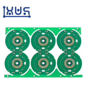 XWS Electronic FR4 Single Side 94v0 Circuit Board PCB Prototype Manufacture