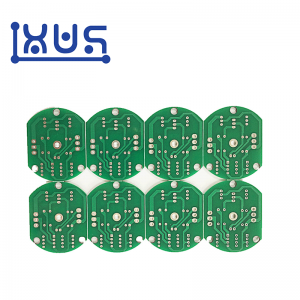 XWS Custom Electronic Single Layer ENIG PCB Board Raw Materials Manufacture