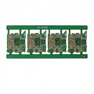 XWS 10 Layer Plating Blind Burried Vias HDI Printed Circuit Board Manufacturer
