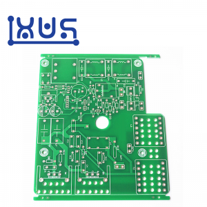 XWS 94v0 Board Bare HASL LF FR4 Single Side Printed Circuit Board PCB