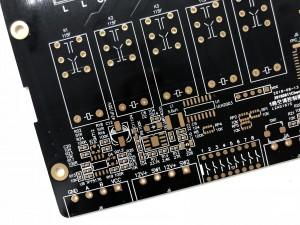 XWS  Electronic 2 Layer Immersion Au PCB Control Board Design