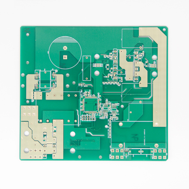 XWS Electronic Control Multilayer Printed Circuit Board Prototype PCBA Assembly Featured Image