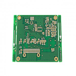 XWS 94v0 Board Car Driving Control Immersion Gold HDI PCB