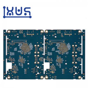XWS Control 4 Layer HDI PCB Printed Circuit Board Prototype Manufacture