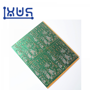 XWS Custom FR4 1.6mm ENIG Double Side PCB Prototype Fabrication