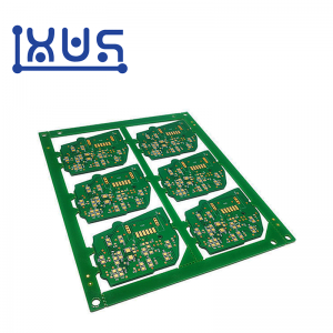 XWS Custom 94v0 ENIG FR4 1.6mm Single Side PCB Circuit Board Prototype