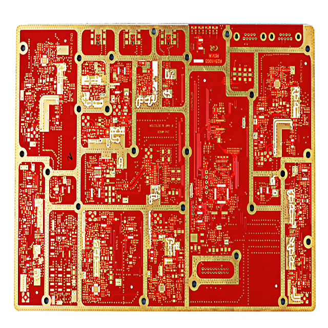 XWS 6 Layer Communication Immersion Au PCB Base FR-4 Board Featured Image