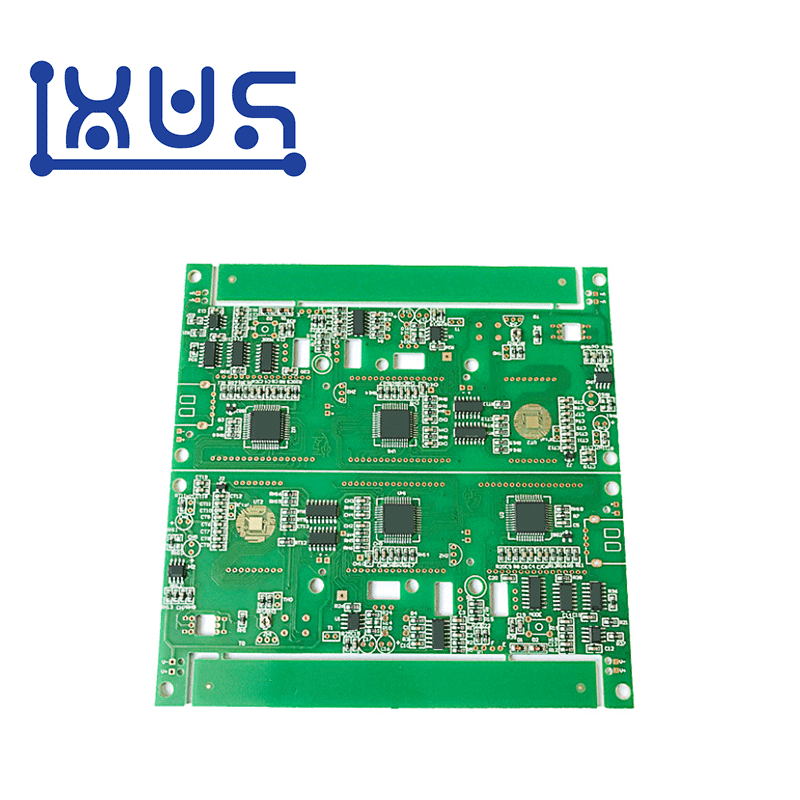 XWS Shenzhen Electronic SMT FR4 1.6mm 2 layer PCB PCBA Assembly Manufacturer Featured Image
